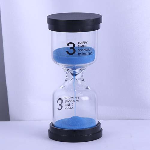 3 Min Blue Sand Happy Time Sandglass