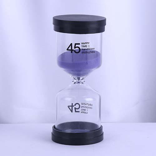 45 Min Purple Sand Happy Time Sandglass