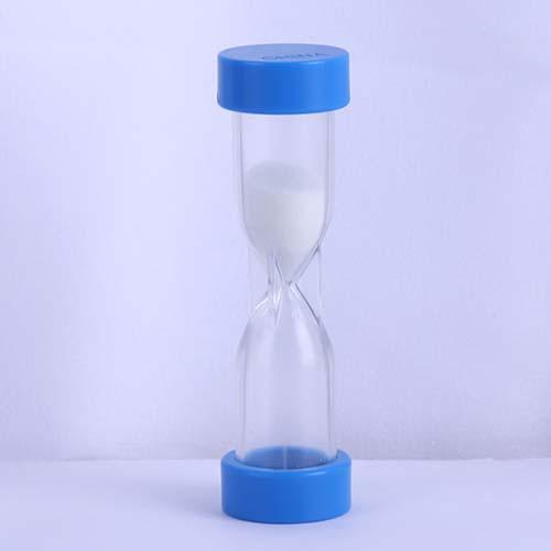 Black 2 Minute Plastic Hourglass