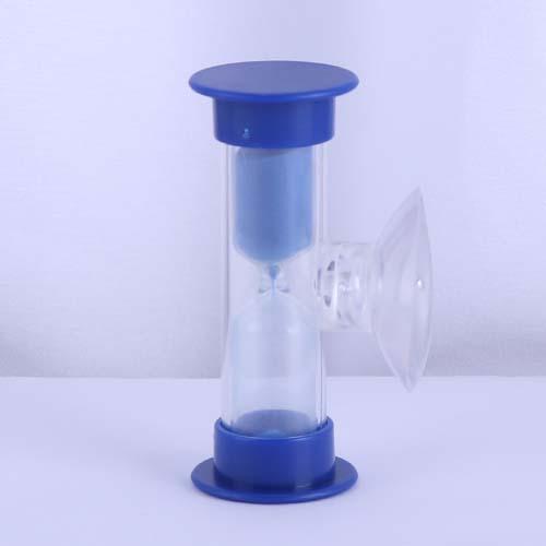 Blue Plastic Shower Sand Timer