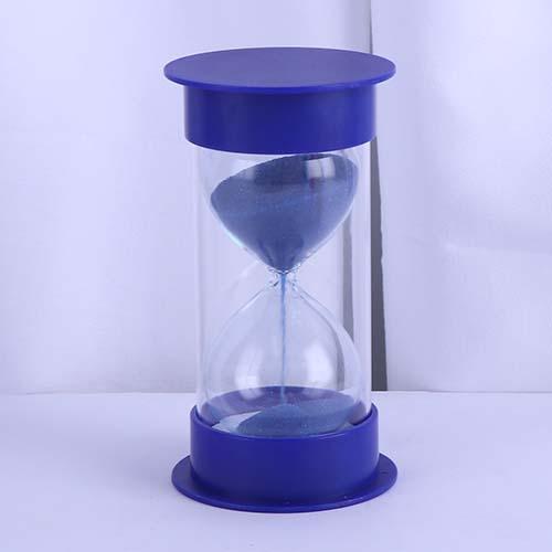 Blue Round Cap Educational Hourglass