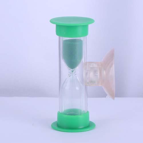Green Plastic Shower Sand Timer