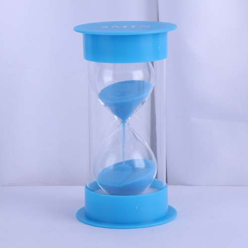 Light Blue Round Cap Educational Hourglass