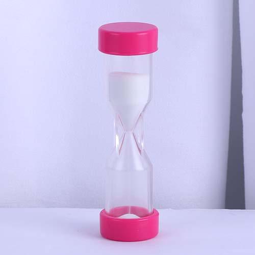 Pink 2 Minute Plastic Hourglass
