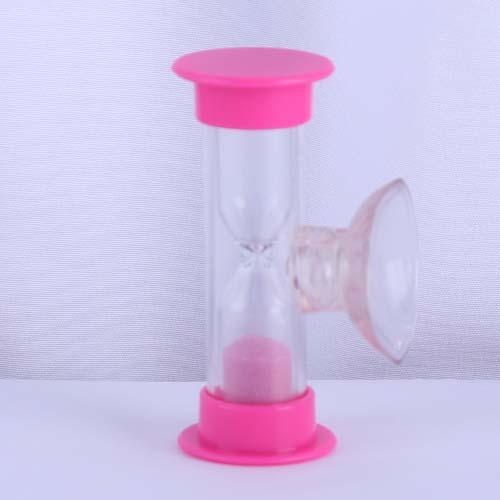 Pink Plastic Shower Sand Timer