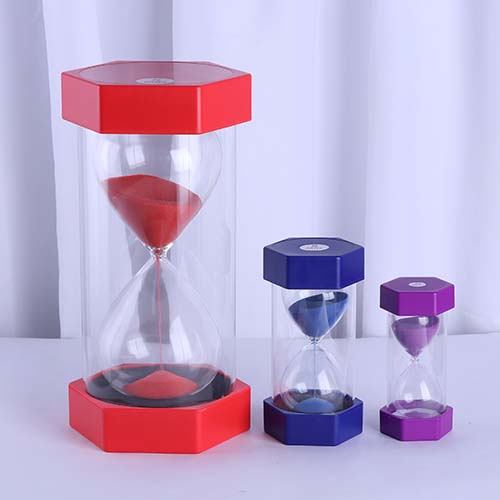 Plastic Hexagon Sand Timer Feature Image