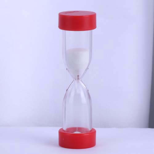 Red 2 Minute Plastic Hourglass