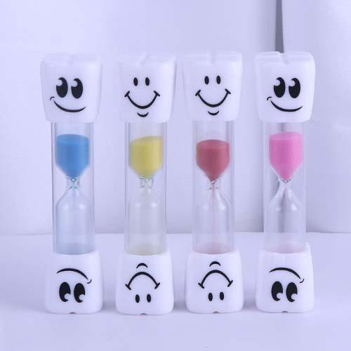 Smiley Toothbrush Sand Timer