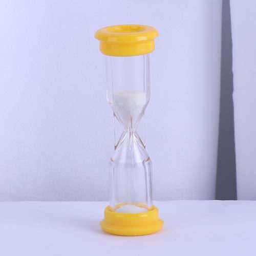 Yellow Mini Board Game Sand Timer