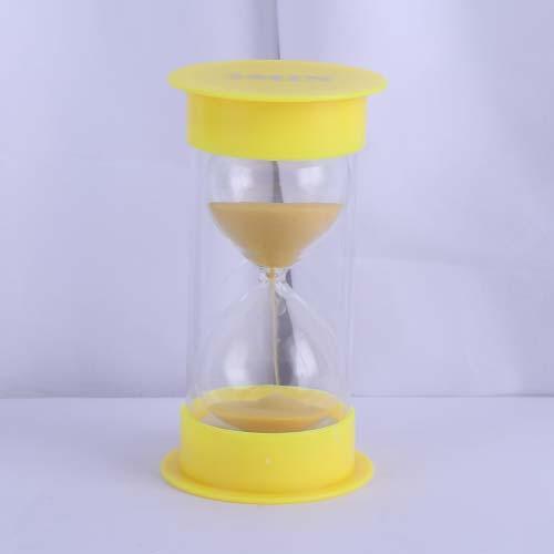 Yellow Round Cap Educational Hourglass